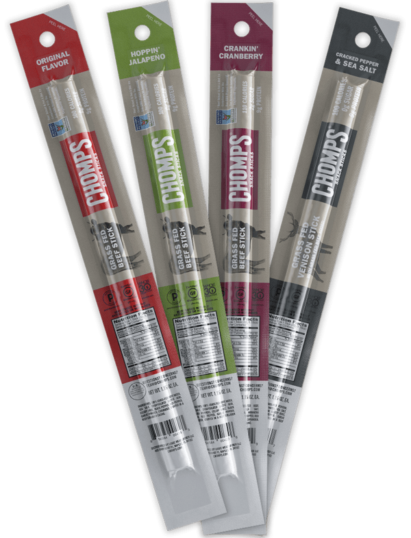 Chomps Whole30 Paleo Gluten-Free, Sugar-Free, Beef Sticks - 15% off Chomps with discount code USALOVE