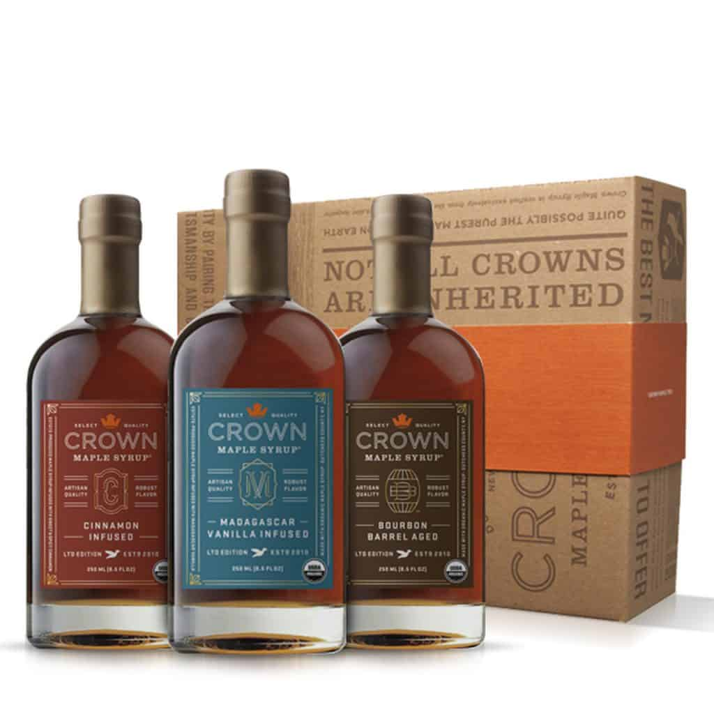 American Made Foodie Gifts - Organic Maple Syrup and Gifts - Crown Maple from Upstate New York