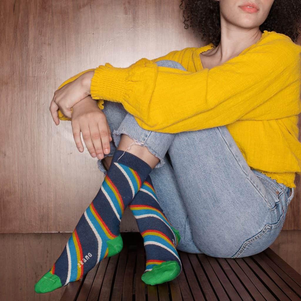 Zkano Socks #madeinUSA gift under $30 - 15% off with code USALOVE. No expiration date. #socks #zkano #americanmade #affordablefashion #madeinusa