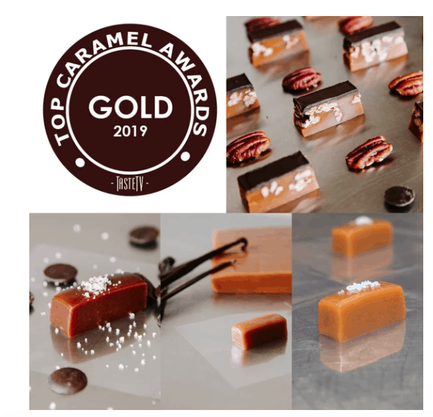 Made in USA Caramel Gifts We Love: Sweet Jules Gifts Caramel of the Month Club #caramel #giftideas #usalovelisted #madeinUSA