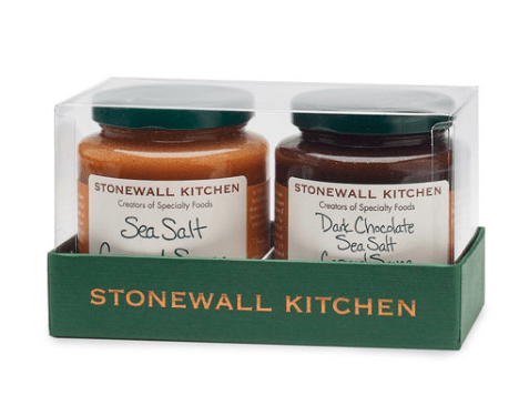 Made in USA Caramel Gifts We Love: Stonewall Kitchen Sea Salt Dessert Collection #caramel #gifts #madeinUSA #usalovelisted