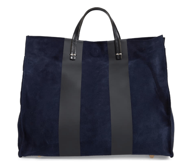 American made handbags we love: Clare V. leather tote bag #usalovelisted #handbag #tote