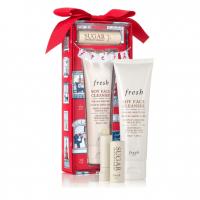 Fresh Enchanted Essentials Travel Size Soy Face & Sugar Lip Treatment Set, $19.50