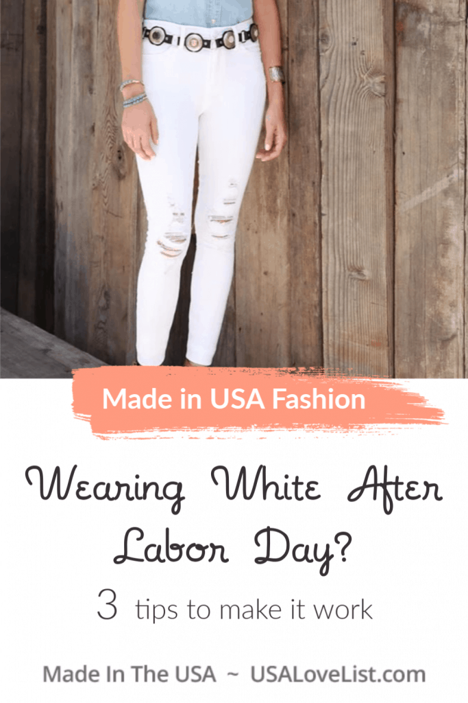 Wearing White After Labor Day- 3 Tips to make it work #fashion #usalovelsited #LaborDay