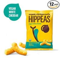 Hippeas Organic Chickpea Puffs + Vegan White Cheddar