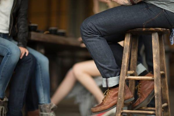 American made Jeans: Bluer Denim button fly selvage denim jeans for men #usalovelisted #denim #jeans #mensfashion