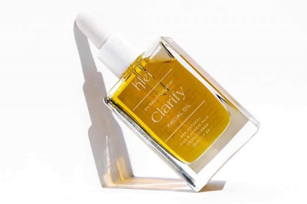 Klei Salicylic Acid Clarify Facial Oil - Great for Oily and Acne Prone Facial Oil - Non-Toxic Vegan Beauty