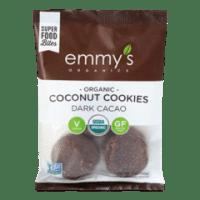 Emmy's Organic Dark Cacao Coconut Cookies