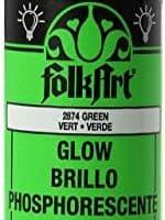 FolkArt Glow in The Dark Acrylic Paint