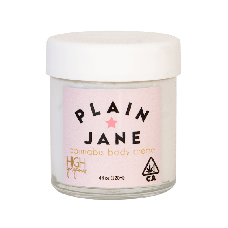 High Gorgeous Plain Jane Lotion - CBD Beauty Brand - Made in USA .- THC and CBD Infused Body Lotion