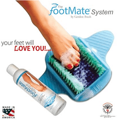 Made in USA Bathroom Essentials: Footmate #usalovelisted #madeinUSA #bathroom #footcare