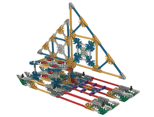 American Made Building Toys for Kids: K'NEX building kits #usalovelisted #toys #STEM