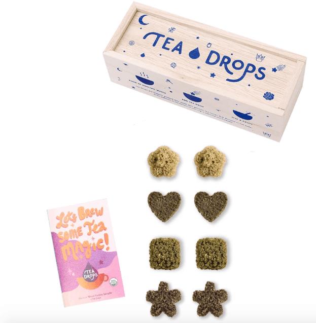 Gifts for Tea Lovers: Tea Drops loose leaf tea #usalovelisted #tea