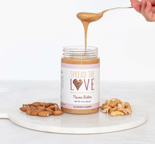 Nut Butters we Love: Spread the Love Power Butter Almond Cashew