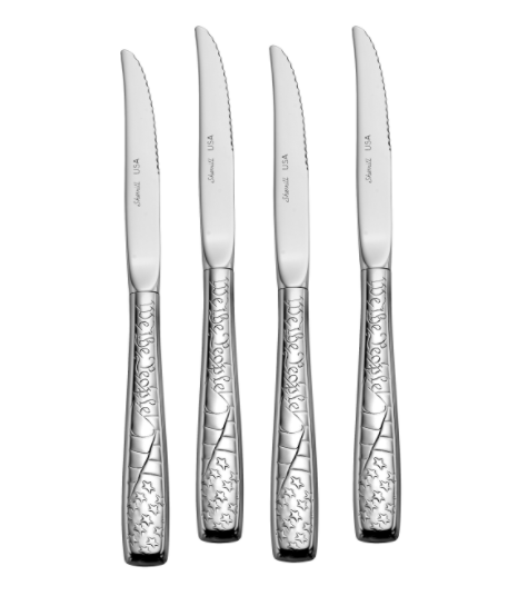 Steak knives made in USA: Liberty Tabletop Flatware