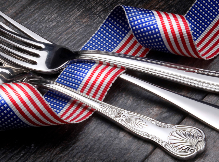Liberty Tabletop Flatware made in USA