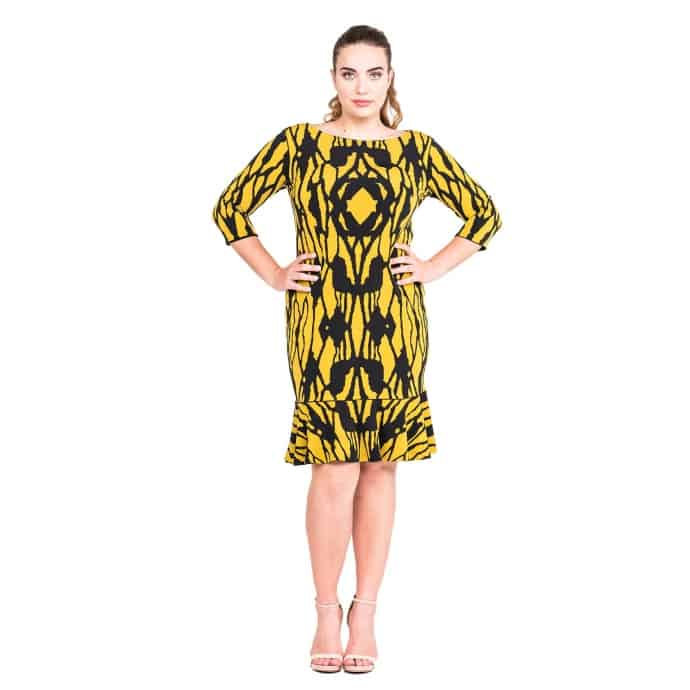20% off Eva Varro American Made Plus Size Fashion from Los Angeles California - Fitting Flattering Good Quality Fabric Dresses