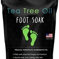 Tea Tree Oil Foot Soak with Epsom Salt, $17
