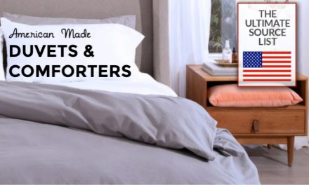 Made in USA Comforters and Duvets: A Source Guide