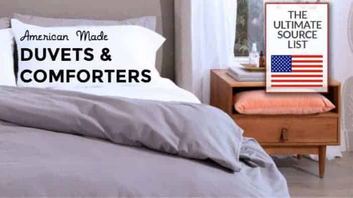 Made in USA Comforters and Duvets