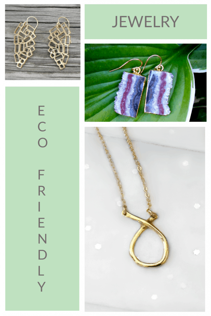 Eco Friendly Jewelry Made in USA That we Love #usalovelisted #Eco #ecofriendly #jewelry #gifts