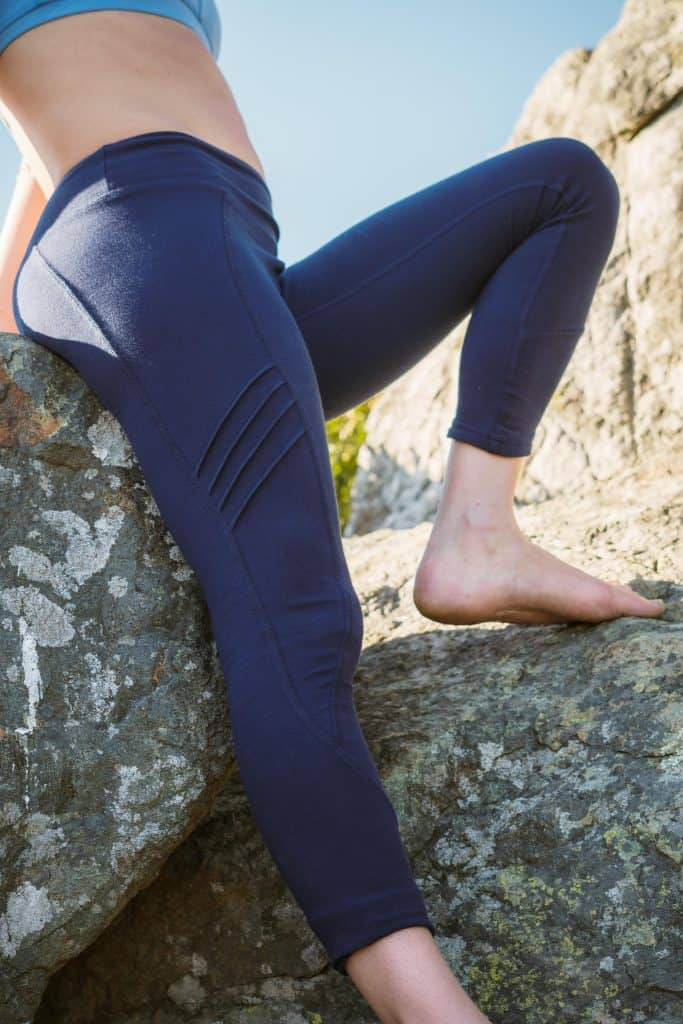 Hyde Organic Yoga Pants - Made in USA - Yoga Lovers Gifts