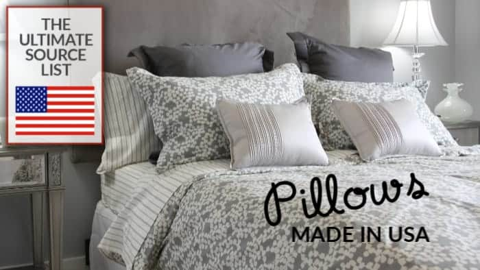 Made in USA Pillows: The Ultimate Source List