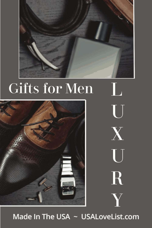 Luxury Gifts for Men via USALoveList.com #usalovelisted