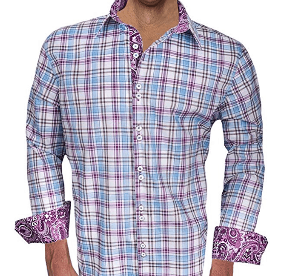 Made in USA Men's clothing brands: Anton Alexander fashion dress shirts #usalovelisted #mensfashion