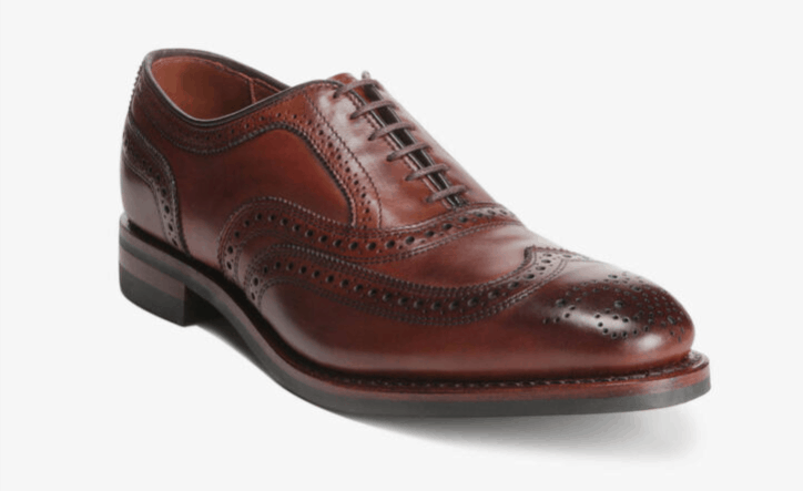Luxury Gifts for Men: Allen Edmonds wing tip shoes #usalovelisted #shoes #luxury