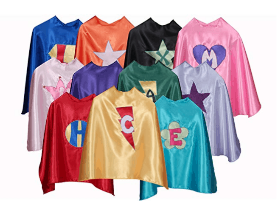 Best Gifts for Kids: Personalized Superhero capes