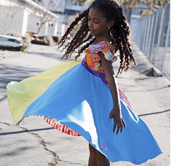 Best Gifts for Kids: Twirly Girl boutique dresses #usalovelisted #madeinUSA #gifts