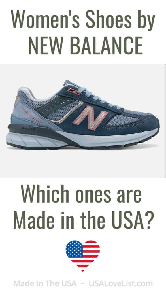 Women's Shoes by New Balance - Which Ones are Made in the USA?