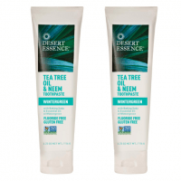 Natural Toothpaste: Desert Essence Tea Tree & Neem in Wintergreen