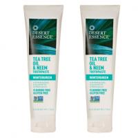 Natural Toothpaste: Desert EssenceTea Tree & Neem in Wintergreen