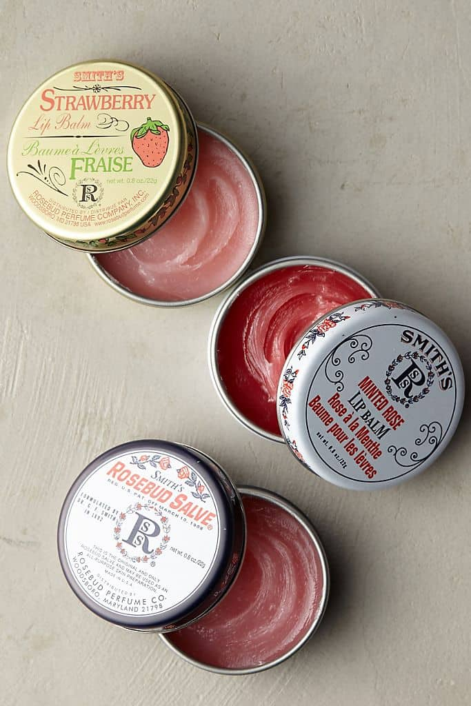 Smith's Rosebud Salve from Rosebud Perfume Co - American Made for over 100 Years - Made in USA Beauty Products