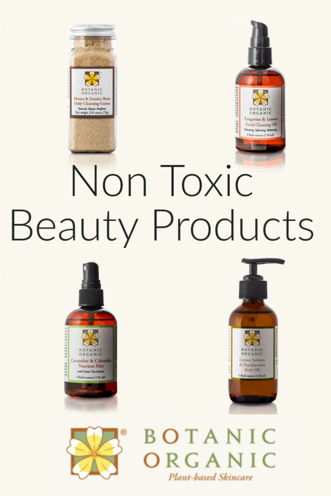 Botanic Organic non toxic beauty products #naturalbeauty #greenbeauty #cleanbeauty #Organic #usalovelisted #madeinUSA