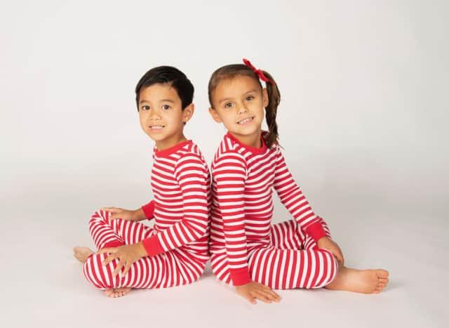 Made in USA Kid's Pajamas: Brian the Pekingese organic cotton pjs