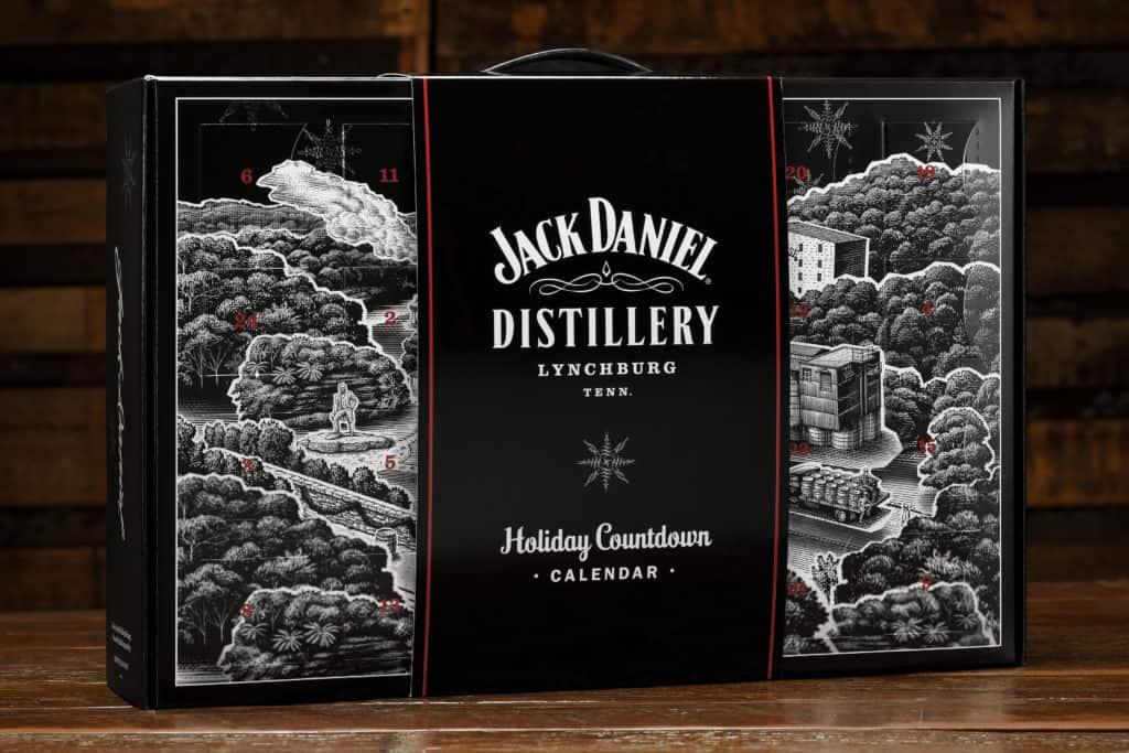Jack Daniel Distillery Holiday Countdown Calendar - Perfect Gift For Men - Perfect Housewarming Gift - Perfect Holiday Hostess Gift