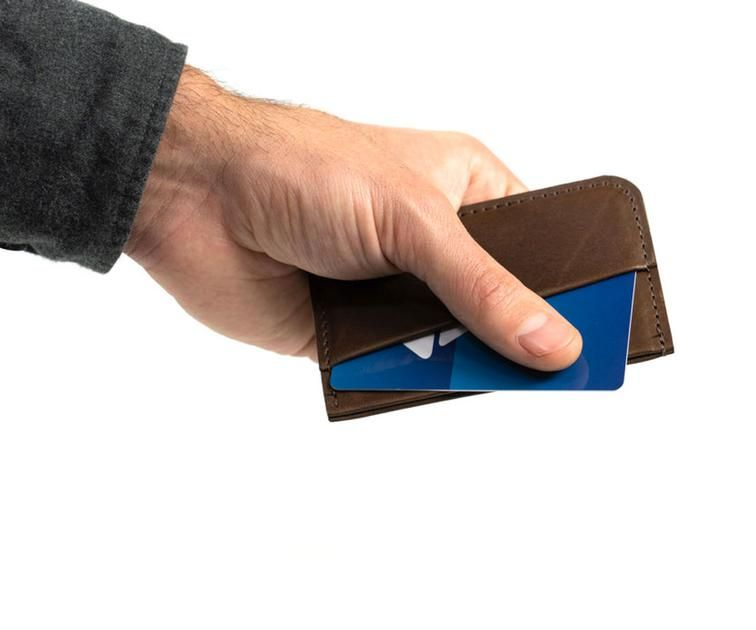 WaterField Designs Clyff Minimalist Wallet - Luxury Gifts For Men - Under $50 - Made in USA