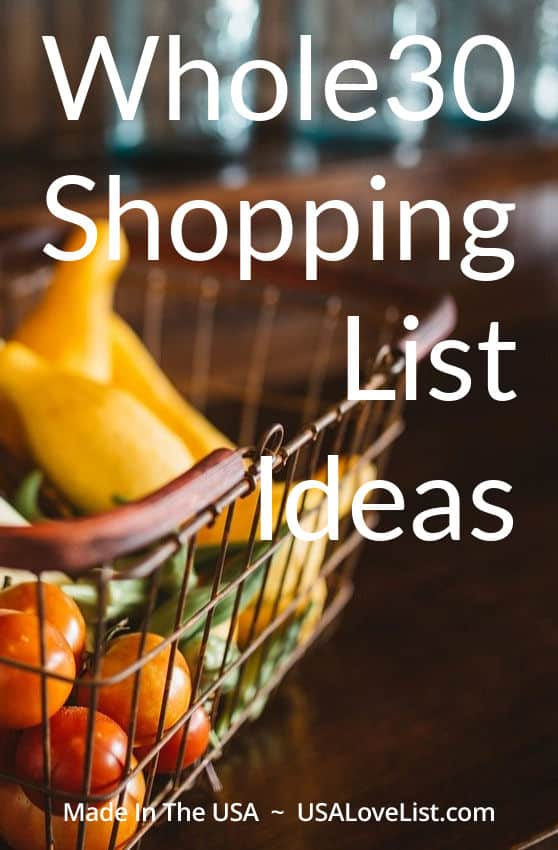 Pin this post for a frequently updated collection of our favorite Whole30 compliant products. Start your Whole30 shopping list here.
