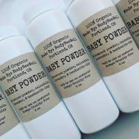 Talc-Free Baby Powder: BodyBeeWell
