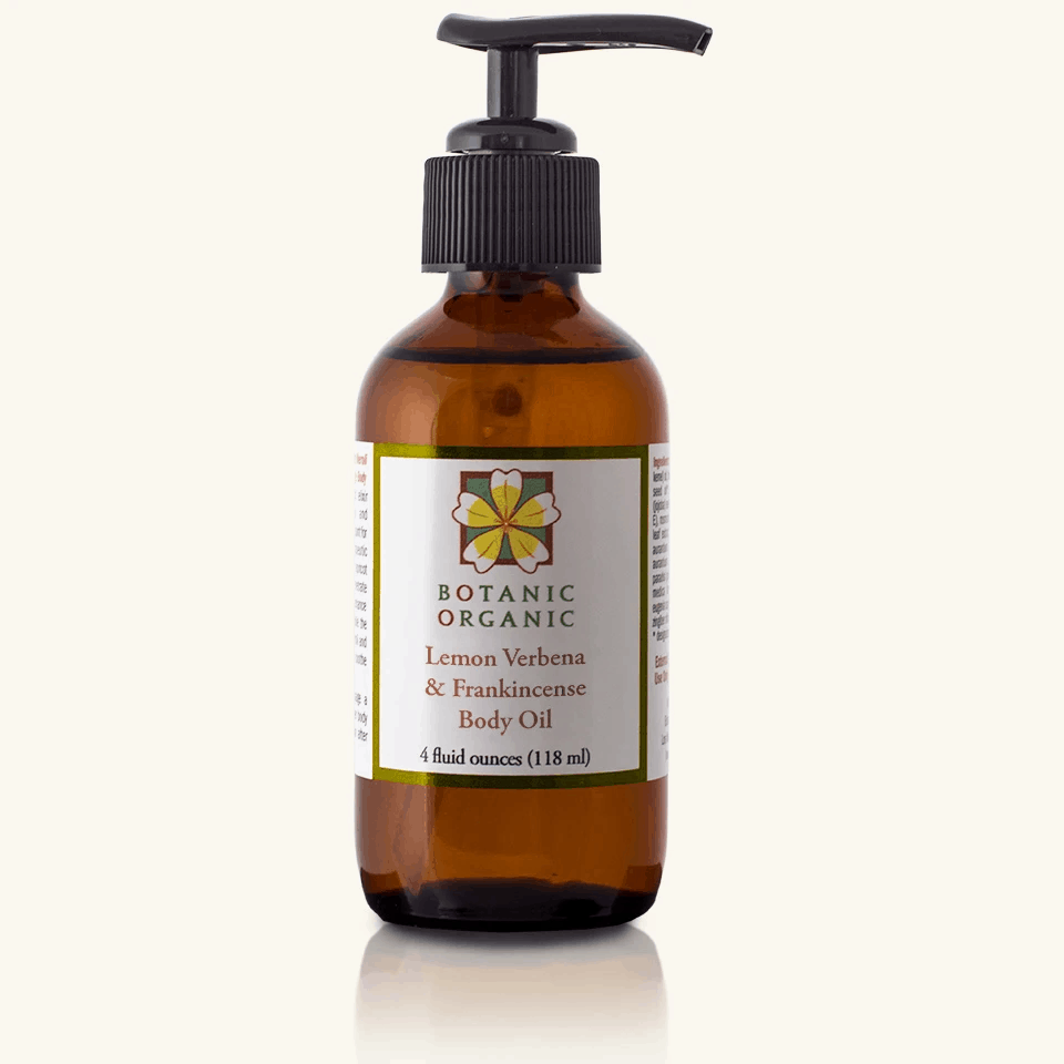 Natural Beauty Products: Botanic Organic Lemon Verbena & Frankincense Body Oil Take 15% off Botanic Organic plant-based, organic skincare with discount code USALOVE. No expiration.