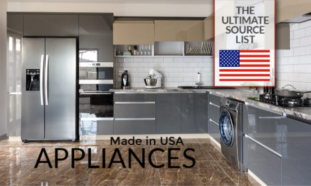 American Made Appliances: A Made in USA Source List of Kitchen Appliances & Household Appliances