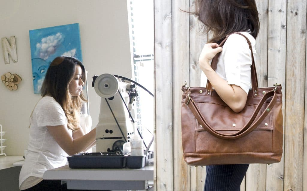 Women-Owned American Made Leather Handbags from Jenny N | Code USALOVE For Free Shipping