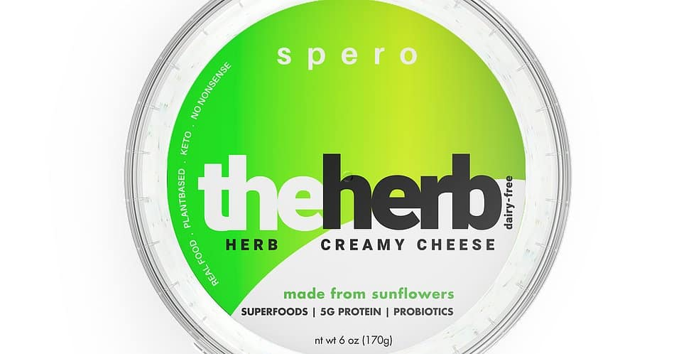 Spero Plant Based Cheese #dairyfree