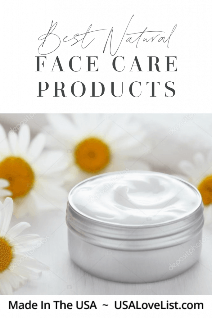 Best Natural Face Care Products: Made in USA via USA Love List