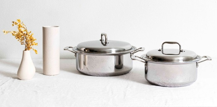 Made in USA Kitchenware featuring 360 Cookware pots and pans via USA Love List. #USAlovelisted #AmericanMade #kitchenware