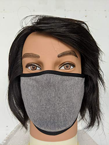 Unisex Face Covering in Charcoal Gray