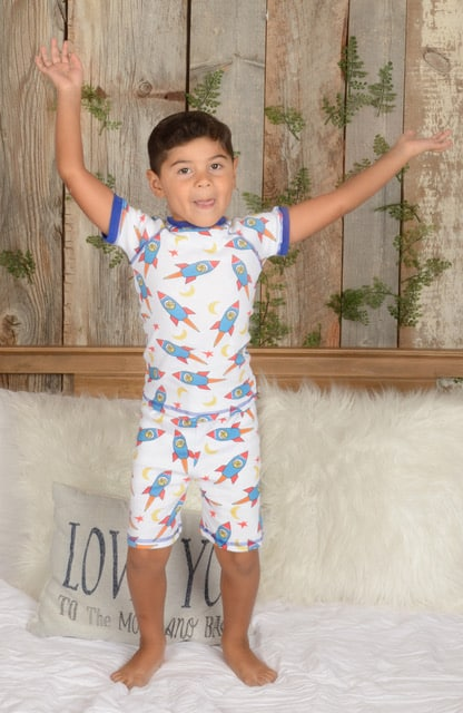 American made clothing brands: Brian the Pekingese children's pajamas.